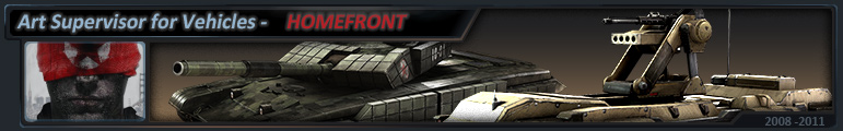 3d professional homefront vehicles